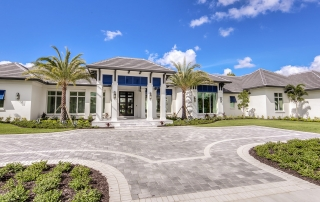 Ladera Model front home exterior by Diamond Custom Homes